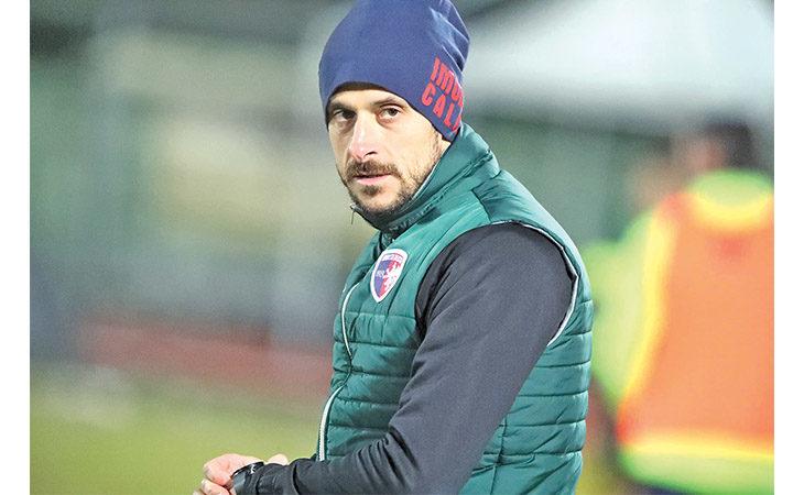 Calcio serie C, il tecnico Alessio Dionisi nel post partita di Imolese-Sambenedettese. IL VIDEO