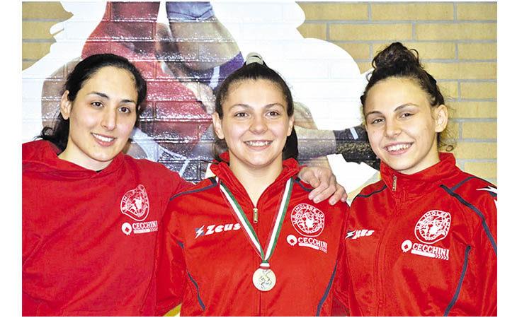 Due argenti tricolori al femminile per l'Unione Sportiva Lotta Imolese