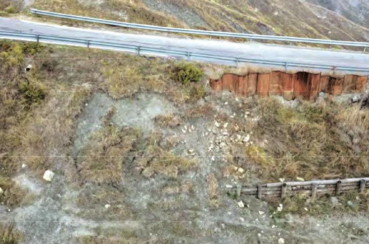 Il Consorzio Bonifica Renana interverrà per rafforzare la scarpata dopo la frana di via Montecalderaro