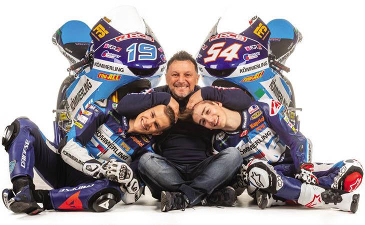 Moto3, Fausto Gresini presenta il team ed i due nuovi piloti: «Siamo competitivi, sono ottimista»