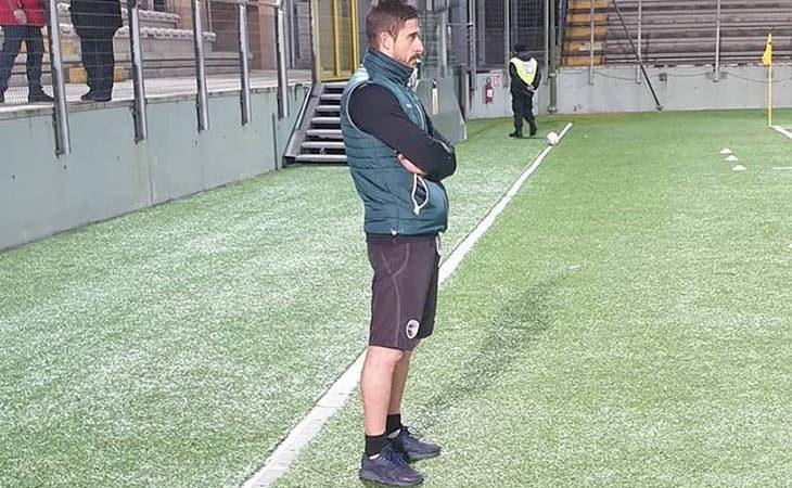 Calcio serie C, il tecnico Alessio Dionisi nel post partita di Imolese-Vis Pesaro. IL VIDEO