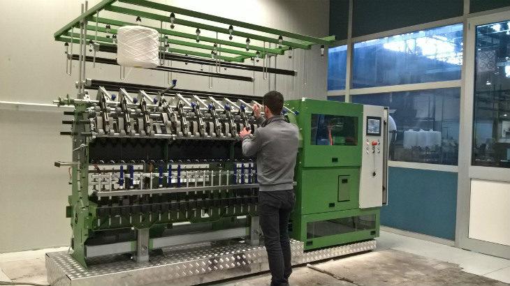 Cogne macchine tessili punta sull'innovativo filatoio Fibrespin grazie ai contributi del programma europeo Horizon 2020