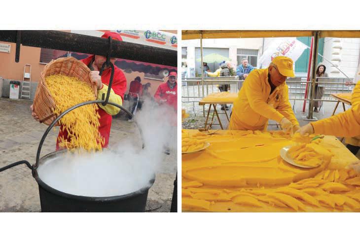 Borgo e Tossignano sono pronti per un ultimo giorno di Carnevale al gusto di maccheroni e polenta