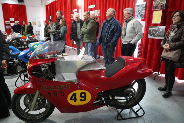 PCB Cannas e Battilani… Il video della mostra sul motociclismo vincente attorno a Imola