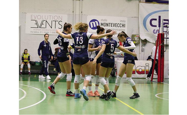 Pallavolo B2 femminile, primo match point-promozione per la Csi Clai Imola