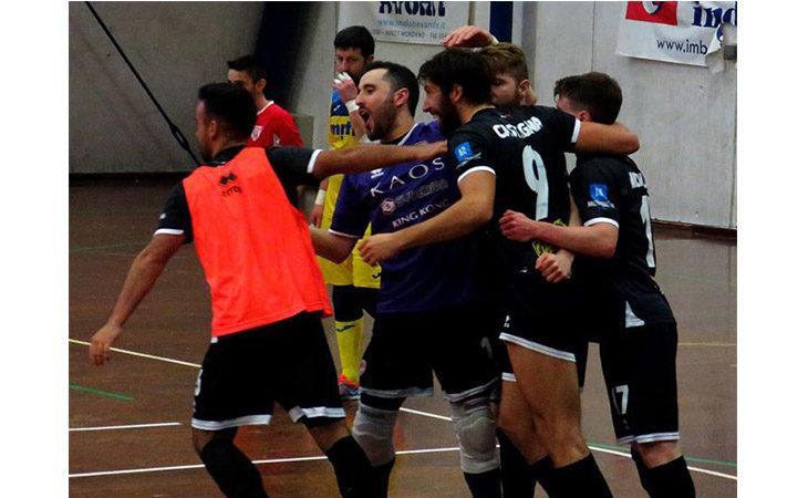 Futsal serie B, vittoria con vista… sull'A2 per l'Imolese Kaos