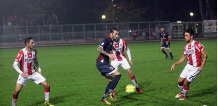 Calcio serie C, punto prezioso dell'Imolese al Menti di Vicenza