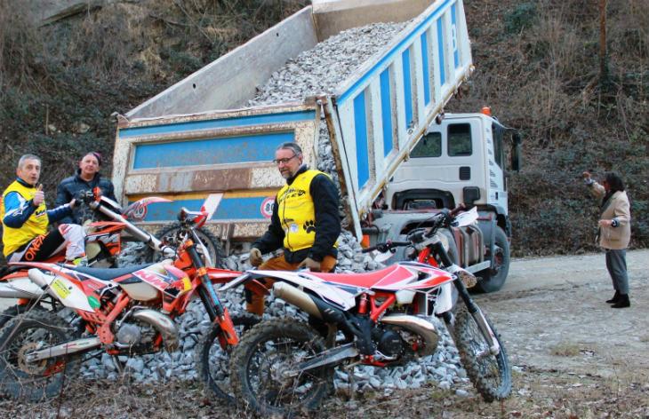 Due riconoscimenti al gruppo Enduro Motor Valley e alla sua attività di valorizzazione dell'Appennino