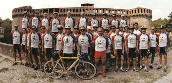 Giuliano Collina ed Ermes Sasso, due miti dello sport imolese