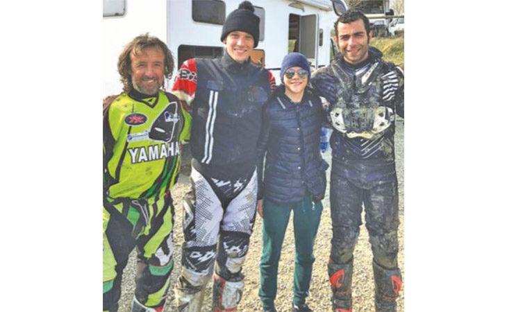 Motocross, Valter Bartolini e le grandi firme a Castello: in pista c'erano Dovizioso, Petrucci e tanti altri