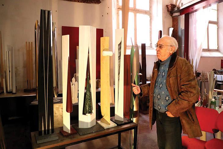 Lo scultore imolese Giovanni Bellettini in mostra a Matera, Capitale della cultura 2019