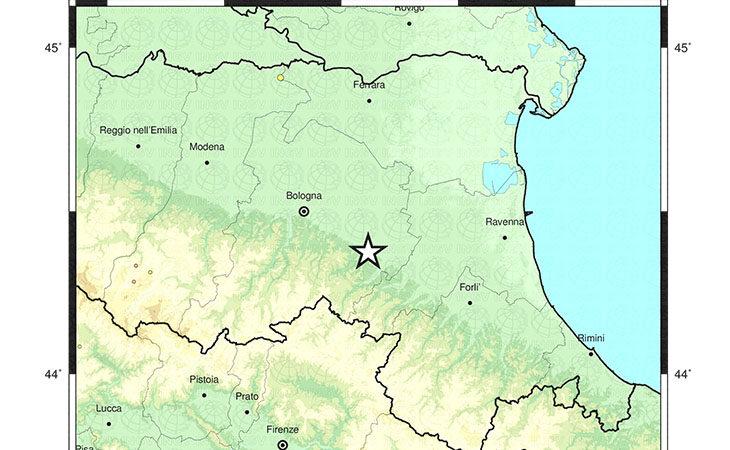 Lieve scossa di terremoto questa mattina con epicentro a Dozza