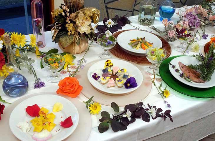 I fiori in cucina, usanza contadina che si sta riscoprendo, gusto oltre l'estetica