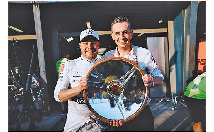 Formula 1, l'ingegnere di pista imolese Riccardo Musconi ha subito dominato con Bottas