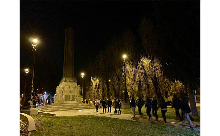 «Camminacittà», a Imola dalla Bocciofila si va in direzione «centro»