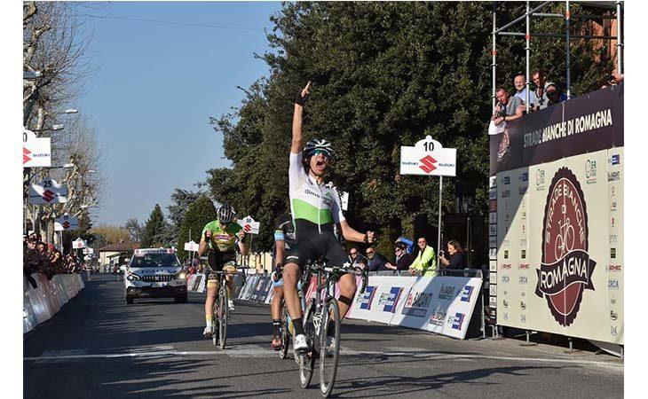 Il piemontese Matteo Sobrero trionfa nella terza edizione delle «Strade Bianche di Romagna»