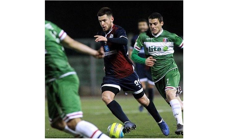 Calcio serie C, l'attaccante Michael De Marchi nel post partita di Imolese-Monza. IL VIDEO