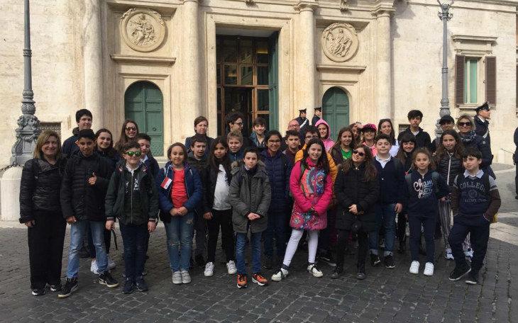 La Consulta delle ragazze e dei ragazzi di Imola ha fatto visita a Roma alla Camera dei Deputati