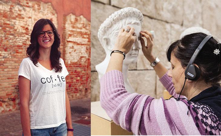 Imola Programma, Serena Ruffato e Tooteko insieme per rendere l'arte accessibile anche ai non vedenti