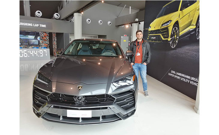 Imola Programma, il consulente esterno di Lamborghini Mattia Gianessi e la tecnologia come ausilio dell'uomo