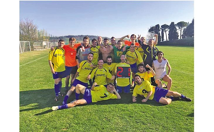 Calcio Terza categoria, il mister della Dozzese Alessandrini dopo la promozione: «Buone basi per il futuro»