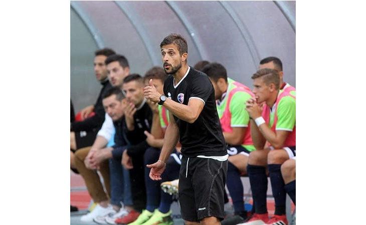Calcio serie C, il tecnico Alessio Dionisi nel post partita di Imolese-Triestina. IL VIDEO