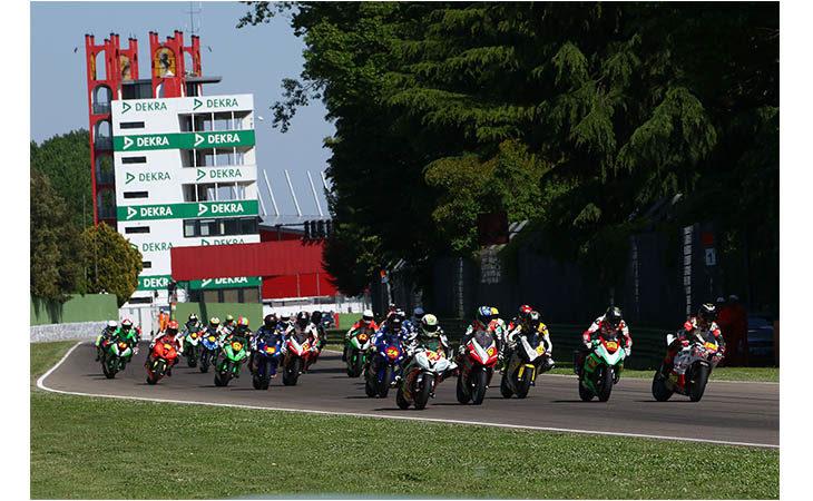 Rilevazioni della Federazione motociclistica italiana negli autodromi, a Imola in giugno durante il Civ