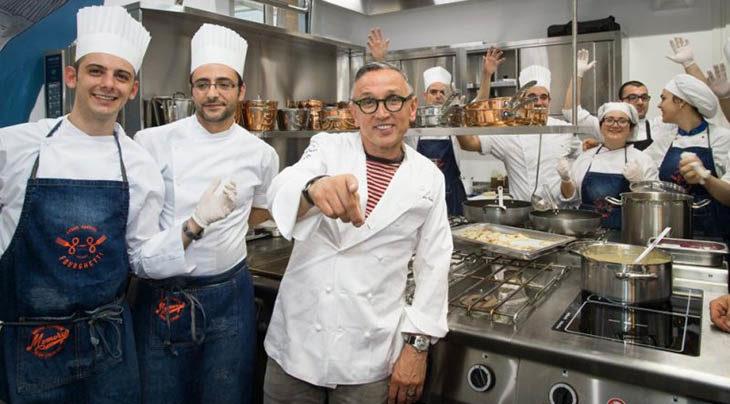 Lo chef medicinese Bruno Barbieri scelto come testimonial dalla Coop