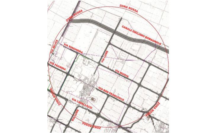 Bomba a Bubano, domani la maxi operazione di evacuazione. Le modifiche alla viabilità