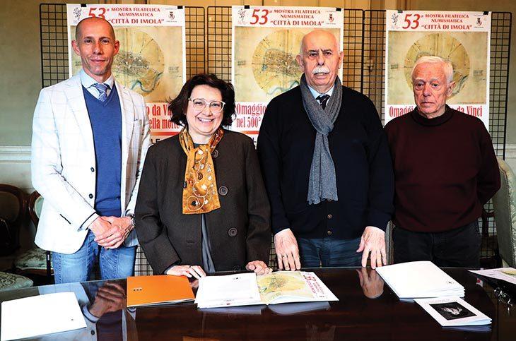 Mostra filatelica dedicata a Leonardo organizzata dal Circolo Piani