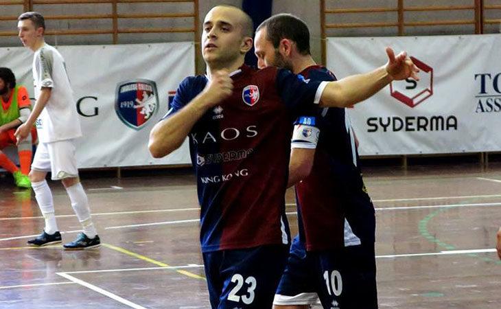Futsal serie B, dieci reti e tanto spettacolo per l'Imolese Kaos