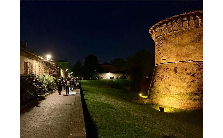 «Camminacittà», a Imola dalla Bocciofila si va in direzione «Villaggio»