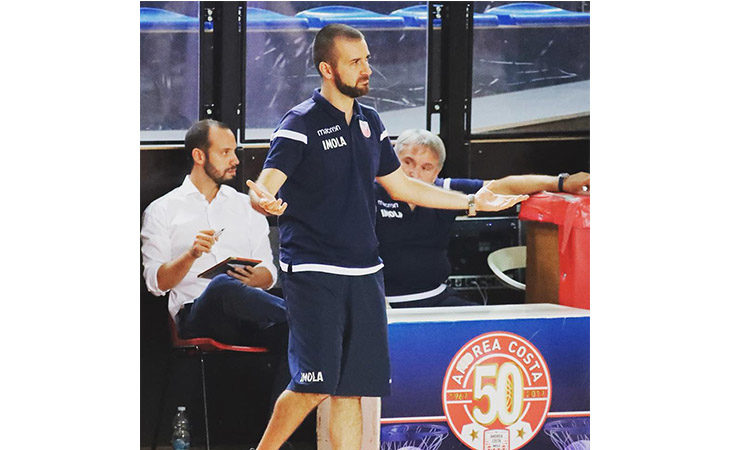 Basket A2, coach Di Paolantonio nel post partita di Le Naturelle-Montegranaro. IL VIDEO