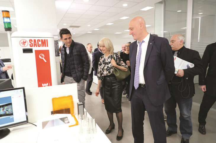 Sacmi ha inaugurato Innovation Lab, la struttura di ricerca cofinanziata da un bando regionale