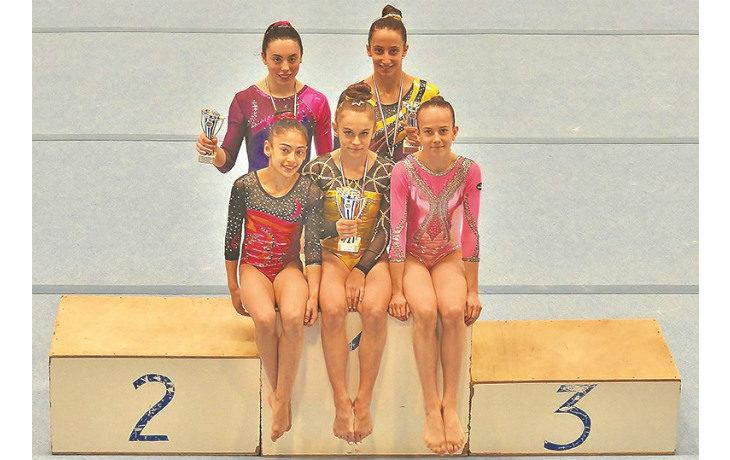 Ginnastica artistica, cinque medaglie interregionali per la Biancoverde che porta tutte le atlete alle finali nazionali