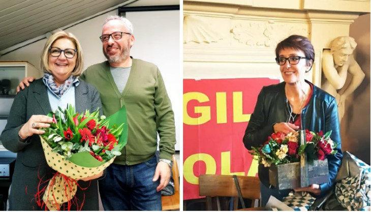 Cambio al vertice per due categorie della Cgil Imola: Liviana Giannotti segretaria Filcams, Veruska Grementieri alla Flai