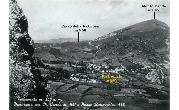 Escursione al Monte Canda col Cai, un giro di 11 km attorno alla «Raticosa»