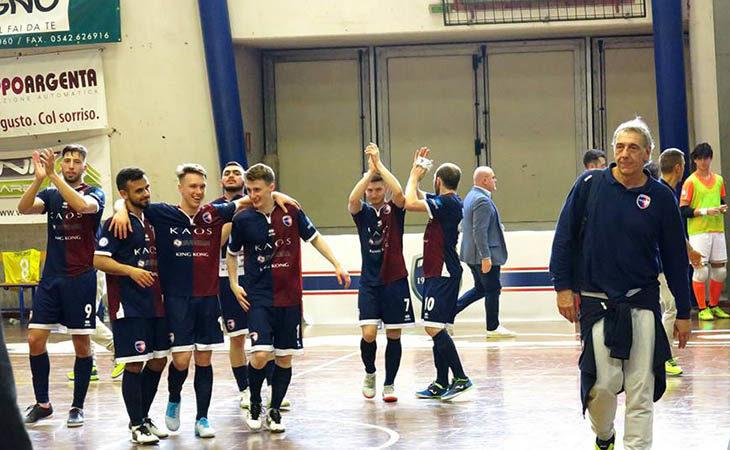 Futsal serie B, termina con un pareggio il campionato dell'Imolese Kaos