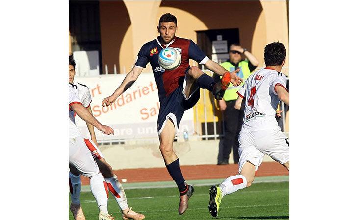 Calcio serie C, il tecnico Alessio Dionisi e l'attaccante Lanini nel post partita di Imolese-Sudtirol. IL VIDEO