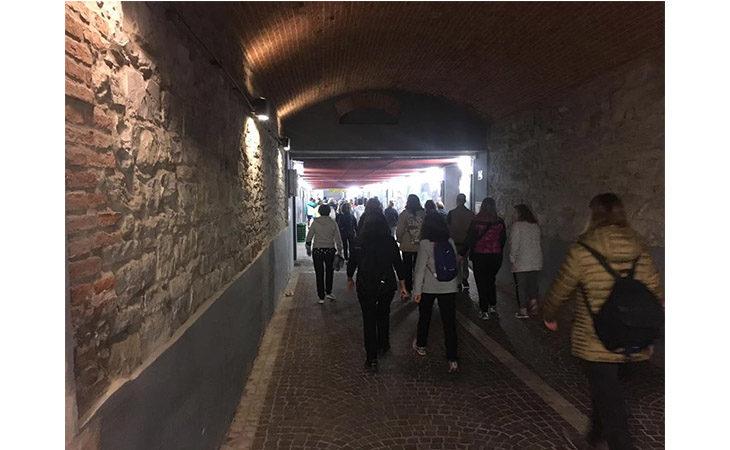 «Camminacittà», a Imola dalla Bocciofila si va in direzione «Tosa»