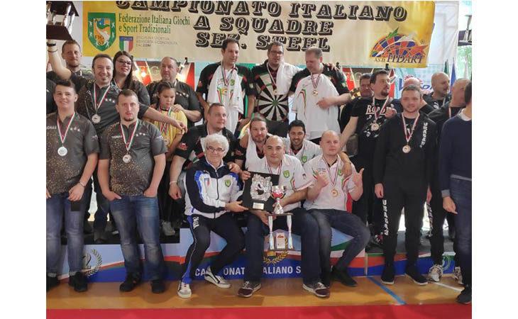 A Castel San Pietro la finale del Campionato italiano di freccette