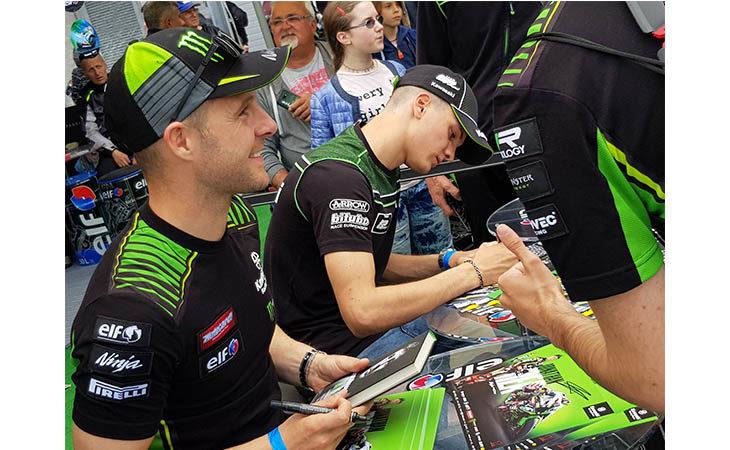 Il campione Superbike Jonathan Rea presenta la sua autobiografia nella sede imolese di Confartigianato Bologna