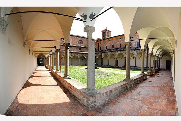 Restaurato il primo chiostro dell'ex convento dell'Osservanza di Imola
