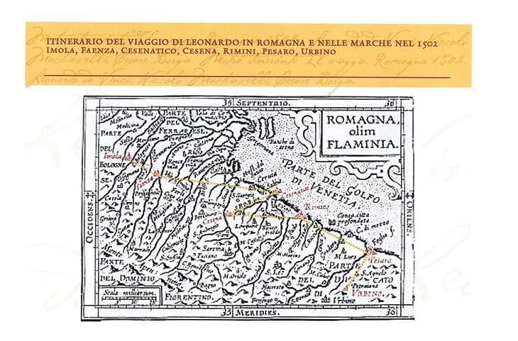 Leonardo, Machiavelli e Cesare Borgia a Imola nel 1502: una mostra racconta la storia