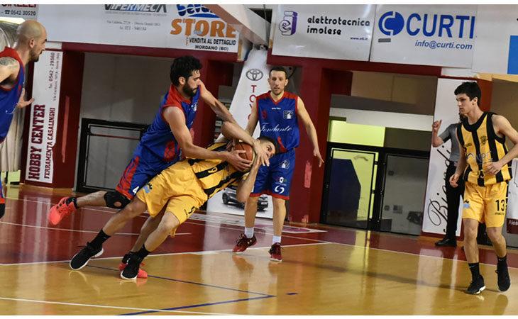 Basket C Gold, niente finale play-off per la Vsv Imola che si arrende in gara-3 contro Bologna Basket
