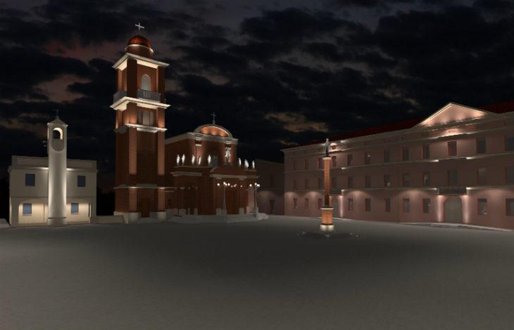 Un nuovo impianto di luci in arrivo a Castel San Pietro per Piazza XX Settembre e piazza Acquaderni