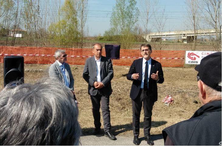 """La cooperativa Cims realizzerà il primo tratto di """"Ciclovia del Sole' da Sala Bolognese al confine con il Veneto"""