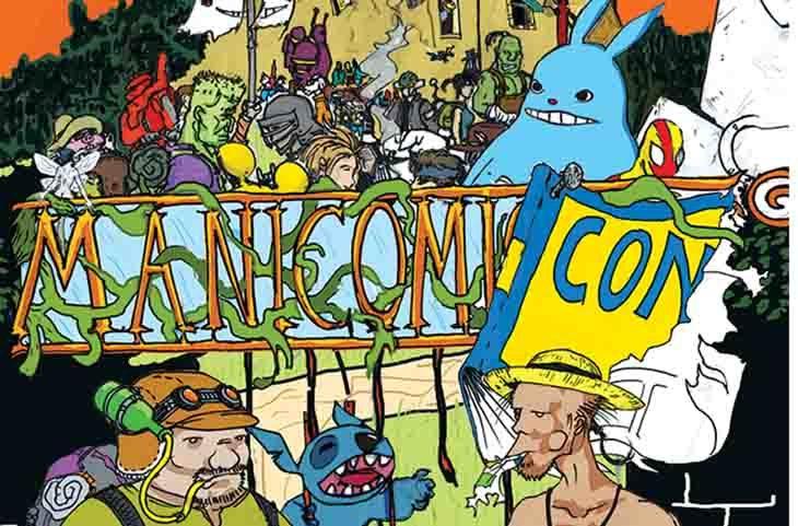 Con Manicomi-con arrivano al parco dell'Osservanza fumetti, cosplay, Lego e cartoni animati