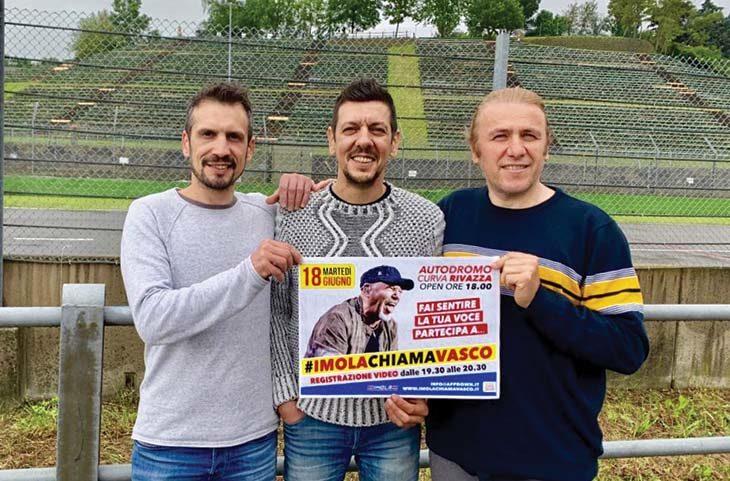 App&down invita gli imolesi all'autodromo per cantare Albachiara e chiamare Vasco