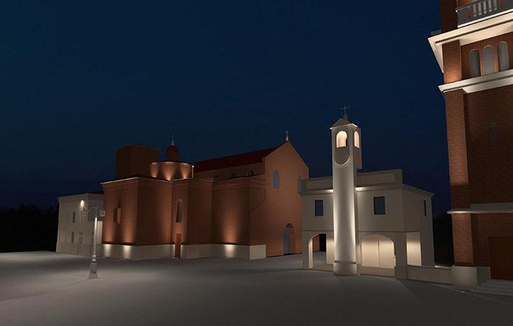 La nuova illuminazione per abbellire le piazze di Castello farà bene anche all'ambiente e ai conti del Comune